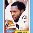 1981 Topps Football #090 Donnie Shell - Pittsburgh Steelers NM-M