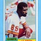 1981 Topps Football #086 J.T. Smith RC - Kansas City Chiefs