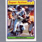 1981 Topps Football #059 Ted Brown SA - Minnesota Vikings ExMt