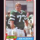 1981 Topps Football #047 Joe Klecko - New York Jets Vg