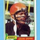 1981 Topps Football #038 Archie Griffin - Cincinnati Bengals