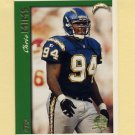 1997 Topps Football Minted In Canton #116 Chris Mims - San Diego Chargers