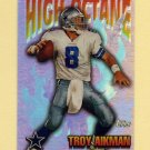1997 Topps Football High Octane #HO14 Troy Aikman - Dallas Cowboys