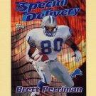1997 Topps Football Season's Best #25 Brett Perriman - Detroit Lions