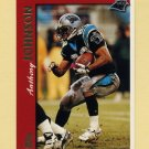 1997 Topps Football #351 Anthony Johnson - Carolina Panthers