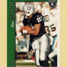 1997 Topps Football #341 Tim Brown - Oakland Raiders