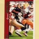 1997 Topps Football #340 Tyrone Hughes - New Orleans Saints