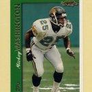 1997 Topps Football #328 Mickey Washington - Jacksonville Jaguars