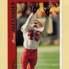 1997 Topps Football #312 Brent Alexander RC - Arizona Cardinals