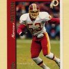1997 Topps Football #228 Marvcus Patton - Washington Redskins