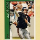1997 Topps Football #216 Jeff George - Oakland Raiders