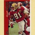 1997 Topps Football #186 Terrell Owens - San Francisco 49ers