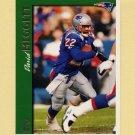 1997 Topps Football #185 Dave Meggett - New England Patriots