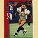 1997 Topps Football #184 Wayne Martin - New Orleans Saints