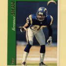 1997 Topps Football #147 Terrance Shaw - San Diego Chargers