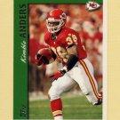 1997 Topps Football #132 Kimble Anders - Kansas City Chiefs