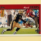 1997 Topps Football #097 Mark Fields - New Orleans Saints