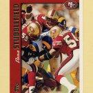 1997 Topps Football #092 Dana Stubblefield - San Francisco 49ers