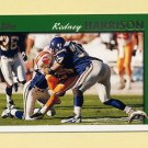 1997 Topps Football #087 Rodney Harrison RC - San Diego Chargers