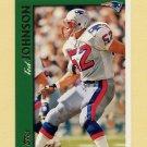 1997 Topps Football #084 Ted Johnson - New England Patriots