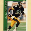 1997 Topps Football #037 Charles Johnson - Pittsburgh Steelers