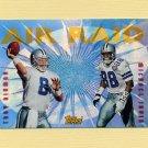 1995 Topps Football Air Raid #10 Troy Aikman / Michael Irvin - Dallas Cowboys