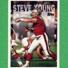 1995 Topps Football #423 Steve Young - San Francisco 49ers