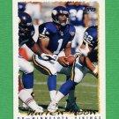 1995 Topps Football #405 Warren Moon - Minnesota Vikings