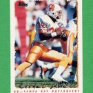 1995 Topps Football #402 Errict Rhett - Tampa Bay Buccaneers