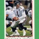 1995 Topps Football #401 Jeff George - Atlanta Falcons