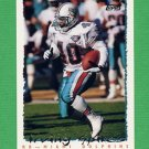 1995 Topps Football #395 Irving Spikes - Miami Dolphins