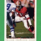 1995 Topps Football #353 Deion Sanders - San Francisco 49ers
