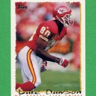 1995 Topps Football #351 Lake Dawson - Kansas City Chiefs