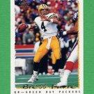 1995 Topps Football #345 Brett Favre - Green Bay Packers