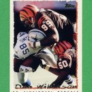 1995 Topps Football #299 Dan Wilkinson - Cincinnati Bengals