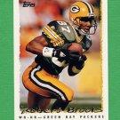 1995 Topps Football #282 Robert Brooks - Green Bay Packers