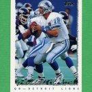 1995 Topps Football #275 Scott Mitchell - Detroit Lions