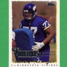 1995 Topps Football #235 Korey Stringer RC - Minnesota Vikings