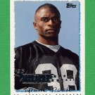 1995 Topps Football #234 Tyrone Poole RC - Carolina Panthers
