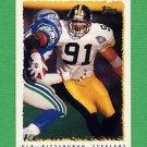 1995 Topps Football #219 Kevin Greene - Pittsburgh Steelers