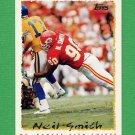 1995 Topps Football #210 Neil Smith - Kansas City Chiefs