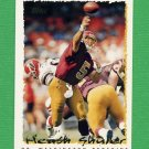 1995 Topps Football #192 Heath Shuler - Washington Redskins