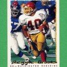 1995 Topps Football #169 Reggie Brooks - Washington Redskins