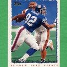 1995 Topps Football #168 Michael Strahan - New York Giants