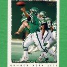 1995 Topps Football #147 Boomer Esiason - New York Jets