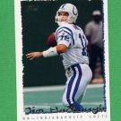 1995 Topps Football #143 Jim Harbaugh - Indianapolis Colts