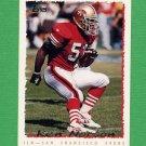 1995 Topps Football #138 Ken Norton Jr. - San Francisco 49ers