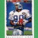 1995 Topps Football #135 Brett Perriman - Detroit Lions