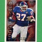 1995 Topps Football #024 Rodney Hampton TYC - New York Giants