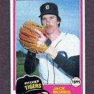 1981 Topps Baseball #572 Jack Morris - Detroit Tigers